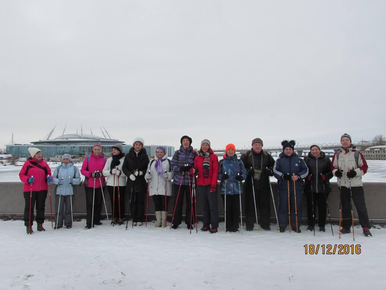 Nordic walking- скандинавская ходьба в Санкт-Петербурге