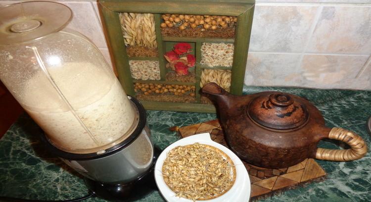 пророщенные зерна пшеницы для питания при сыроедении и вегетарианстве, обогащение пищи живыми продуктами, коктейли из пророщенных зерен