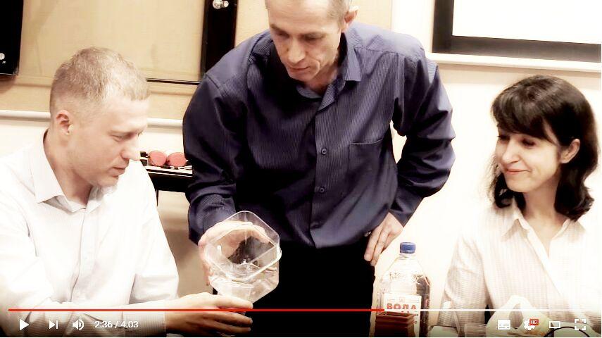 "Презентация о воде, проект ""Живая вода"", Санкт-Петребург, г-ца ""Октябрьская"""
