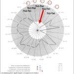 Электроспондилография. Вегетативно-висцеральная регуляция. Круговая диаграмма.